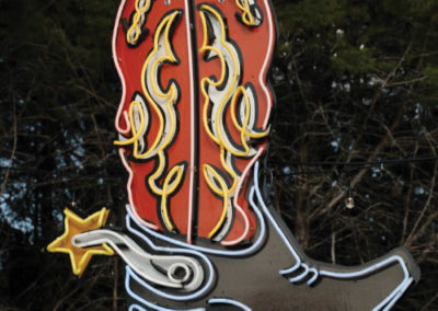 Boot Neon Sign