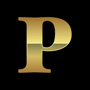 P from PMMCON Logo